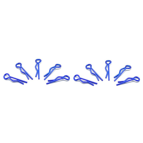 Small Body Clip 1/10 - Metallic Blue (10)