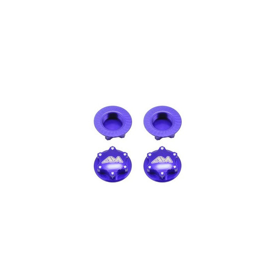 Alu 1/8Th Wheel Nuts-Closed End / Lightweight (4)
